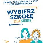 Plakat - Wybierz szkołę dla siebie