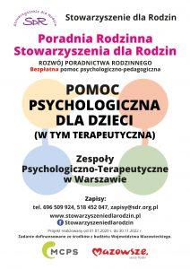 Stowarzyszenie dla Rodzin - pomoc psychologiczna