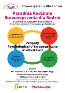 Stowarzyszenie dla Rodzin - zespoły terapeutyczne